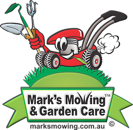 Mark's Mowing and Garden Care Logo