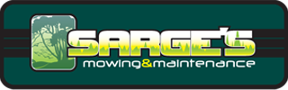 Sarges Mowing and Maintenance Logo