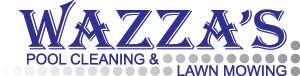 Wazza's Pool Cleaning and Lawn Mowing Logo